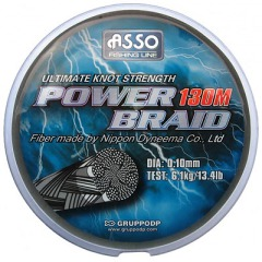 Шнур Asso Power Braid 0,10