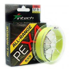 Шнур Intech All-Range PE X-4 0.6 150m 10lb